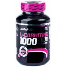 Жиросжигатель Biotech L-Carnitine 1000 mg 30 таблеток